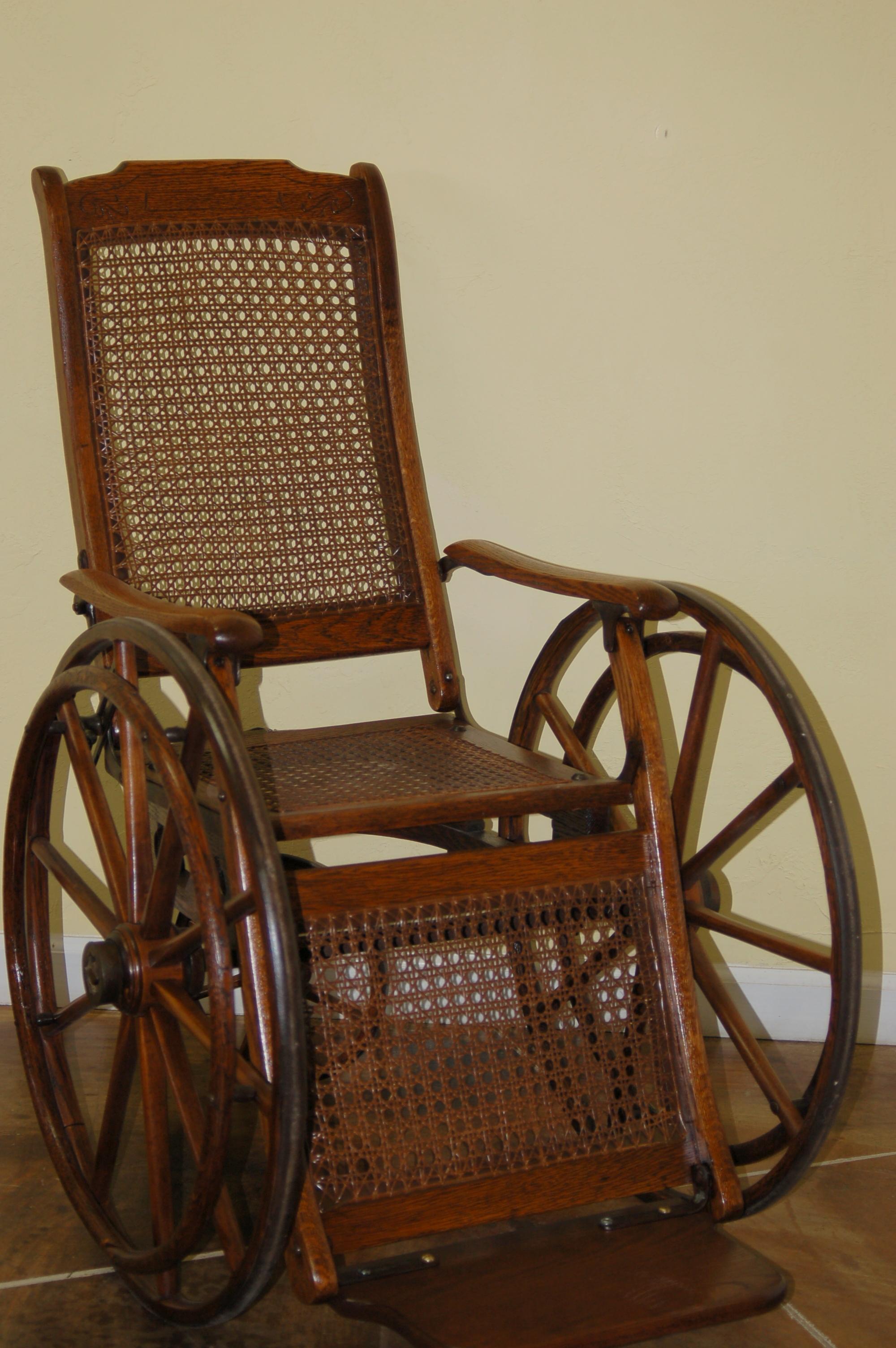 Antique wheelchair value best decor ideas