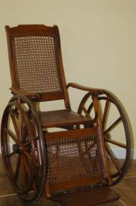Antique Wheelchair - After