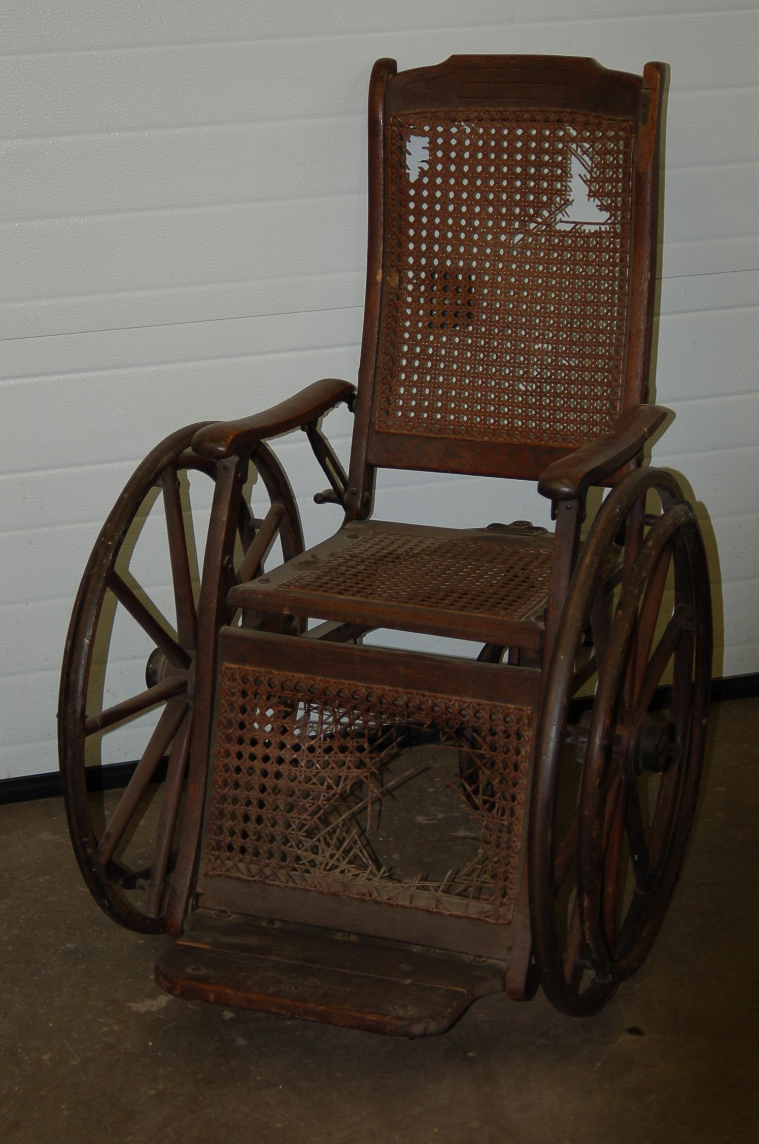 Antique Wheelchair - Before - Wheelchair - Before