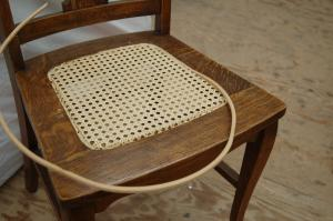 Pre-Woven Caning Process